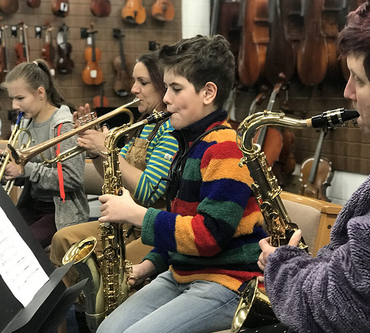Single Wind and Brass Group Session