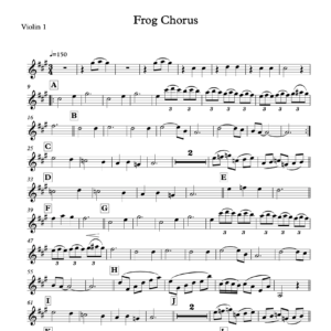 Preview of Music - Frog Chorus