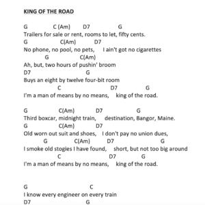 Preview of Music - king of the road