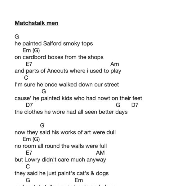 Preview of Music - Matchstalk Men