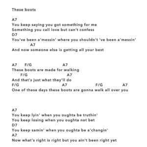 Preview of Music - These Boots