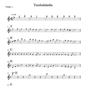 Preview of Music - Tumbalalaika