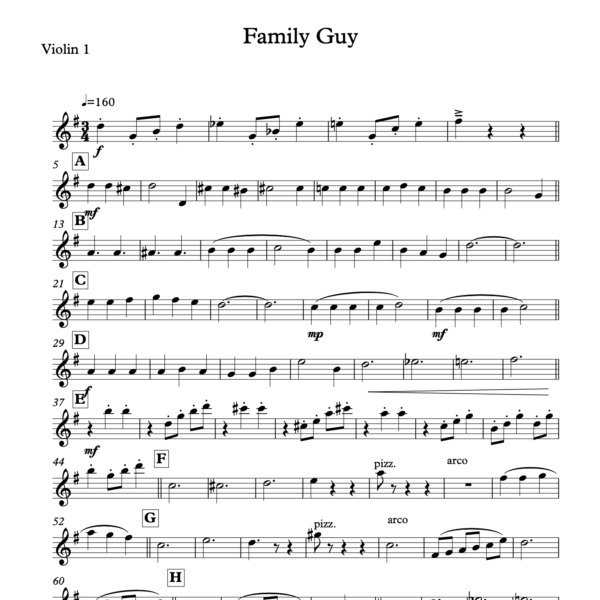 Preview of Music - Family Guy