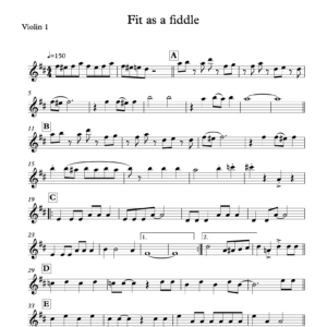 Preview of Music - Fit as a fiddle