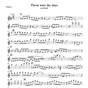 Preview of Music - Those were the days